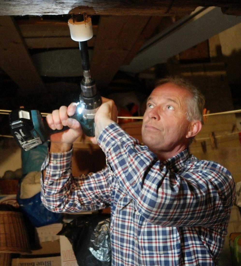 Paul Borghaerts neemt houtmonster